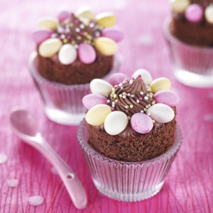 nids cupcakes recettes